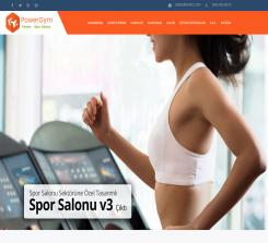 Spor Salonu Web Paketi Power v